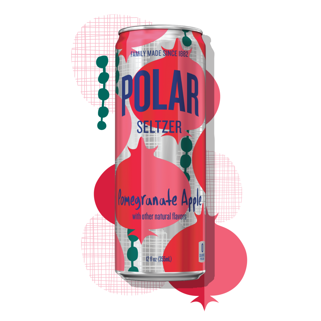 Polar Seltzer Winter 2020 Pomegranate Apple